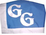 blue saddle towel
